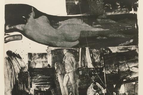 Robert Rauschenberg, Breakthrough I, 1964