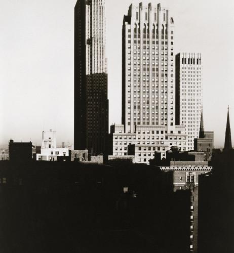 Alfred Stieglitz (1864-1946), New York from the Shelton, 1935