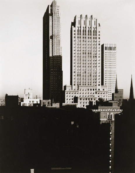 Alfred Stieglitz (1864-1946), New York from the Shelton, 1935