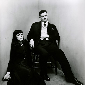 Irving Penn, Charles & Barbara Addams (1 of 2), New York1948