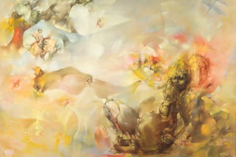 Dorothea Tanning (American, b. 1910), Le Mal Oublié, 1955