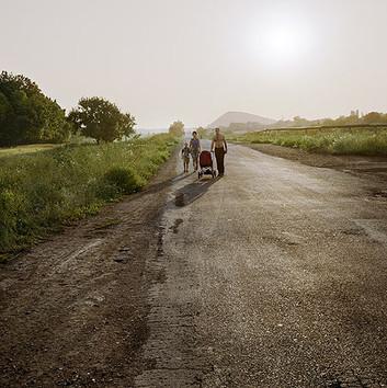 Jim Goldberg, The Road West, Ukraine, 2006