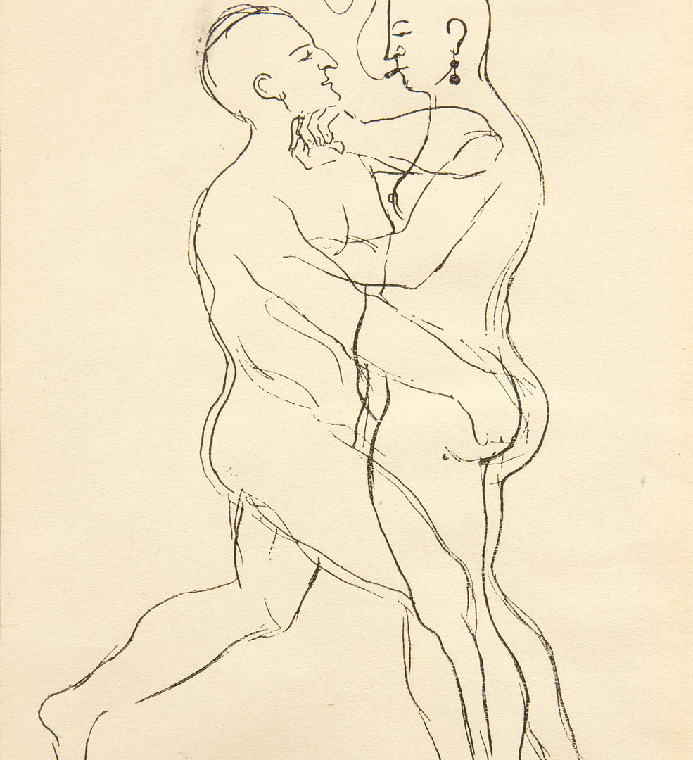 Francis Picabia (French, 1879-1953), Two Nudes, c. 1926