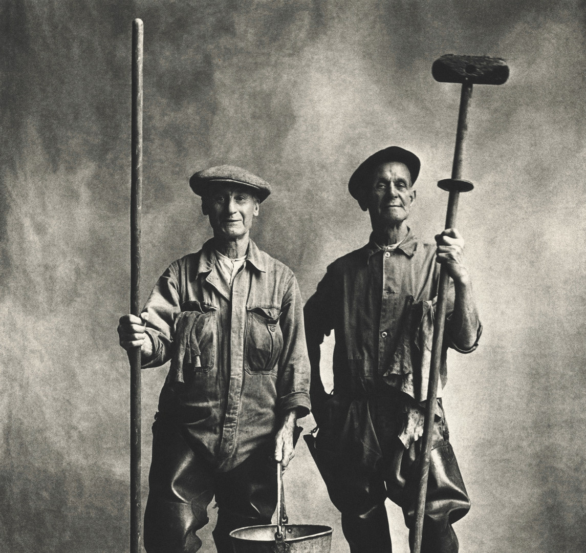 Irving Penn, Lorry Washers, London, 1950