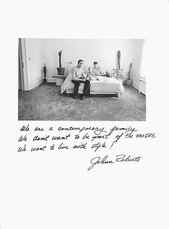 Jim Goldberg, Untitled (We are a contemporary ...), 1981