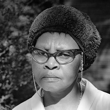 David Goldblatt, A maid on Abel Road, Hillbrow, Johannesburg. , 1973