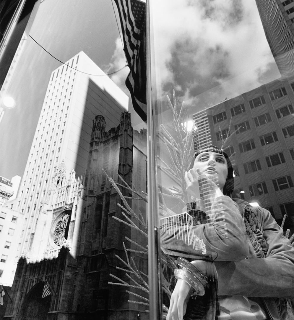 Lee Friedlander, New York City, 2010