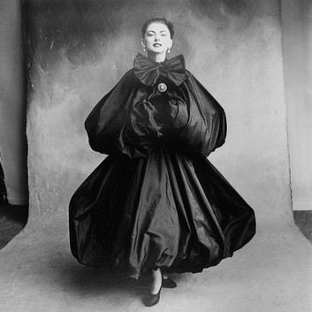 Irving Penn, Balenciaga Harem Dress (Diane), Paris, 1950