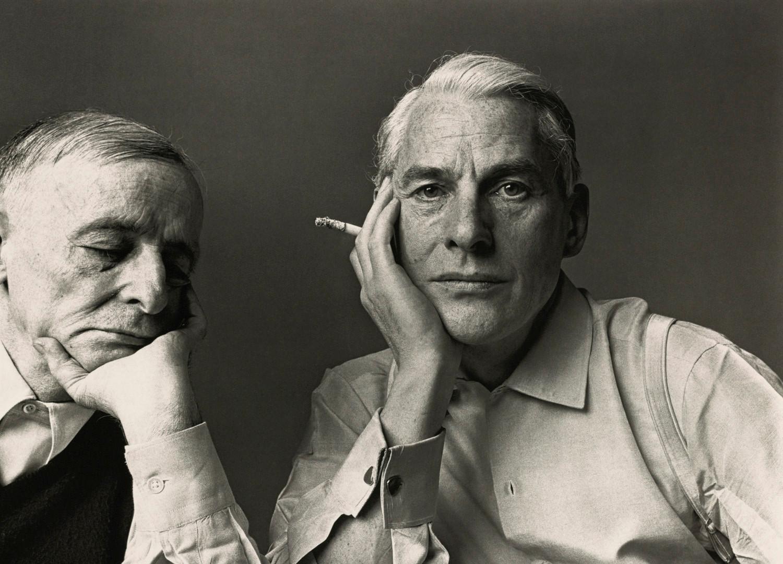 Irving Penn, Frederick Kiesler and Willem DeKooning, New York, 1960