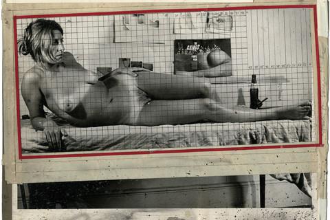 Chuck Close, Maquette for Big Nude, 1966