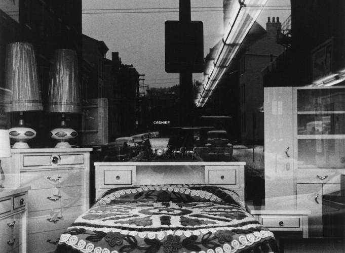 Lee Friedlander, Cincinnati (Bed in Window), Ohio, 1963