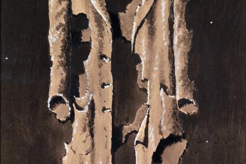 René Magritte (Belgian, 1898-1967), Le Manteau de Pascal, 1957