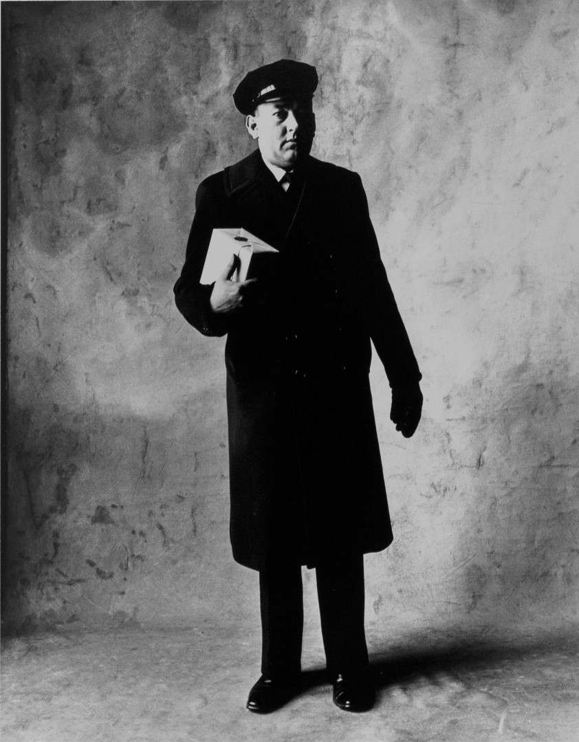 Irving Penn, Cartier Messenger, New York, 1951