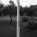 Emmet Gowin, Porch post, Danville, Virginia, 1967