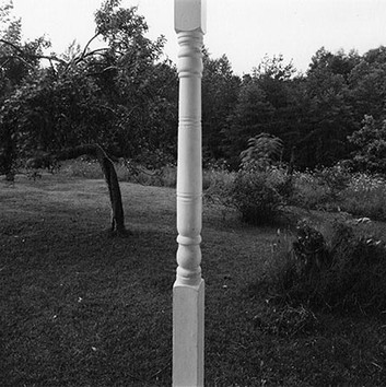 Emmet Gowin, Porch post, Danville, Virginia, 1967