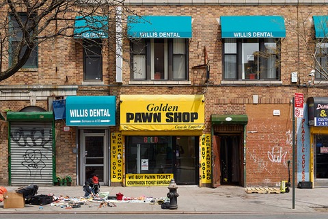 Paul Graham, Golden Pawn Shop, Bronx, New York, 2013
