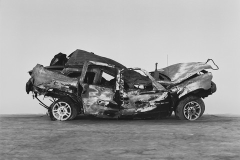 Richard Learoyd, Crashed, burned and rolled (2), 2017