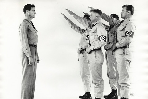 Richard Avedon, George Lincoln Rockwell, Commander of the American Nazi Party, Arlington, Virginia, October 15, 1963