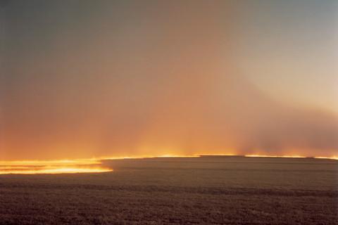 Richard Misrach, Desert Fire, #249, 1985