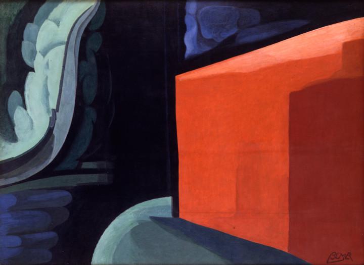 Oscar Bluemner (1867-1938), Approaching Black, 1932