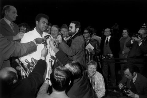 Garry Winogrand, Muhammad Ali-Oscar Bonavena Press Conference, New York, 1970