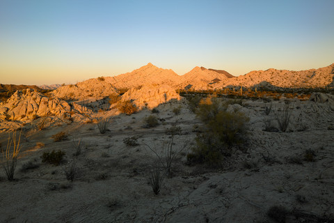 Mark Klett, Daybreak, Cabeza Prieta Mountains, 2013