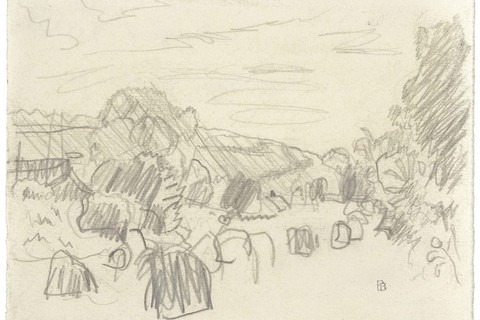 Pierre Bonnard, Paysage du Morvan, n.d.