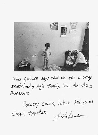 Jim Goldberg, Untitled (This picture says ...), 1981