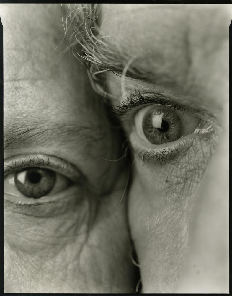 Nicholas Nixon, Bebe and I, Brookline, 2012
