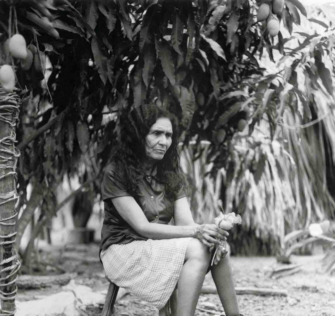Fazal Sheikh, Dona Nika, Grande Sertao Veredas National Park, Brazil, 2001