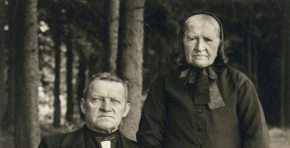 August Sander, Farming Couple - Propriety and Harmony, 1912