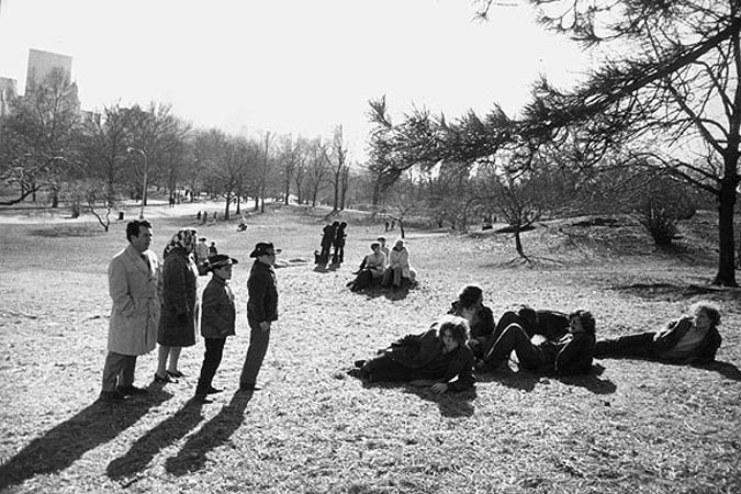 Garry Winogrand, Central Park, New York, 1971