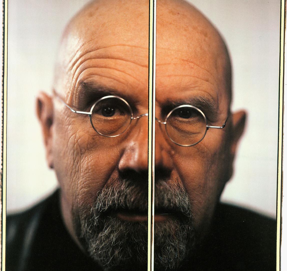 Chuck Close, Self-Portrait Diptych, 2005