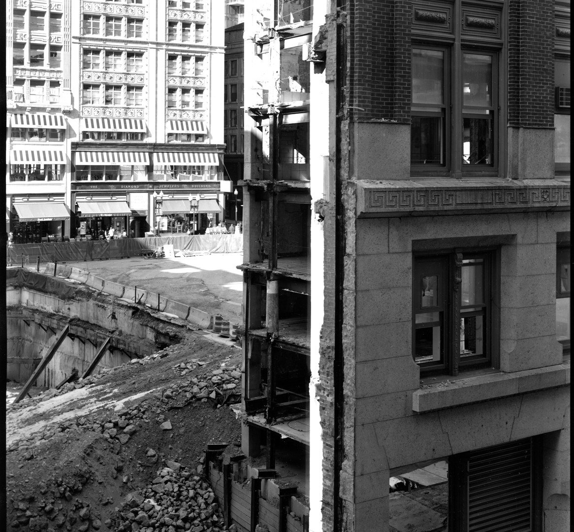 Nicholas Nixon, View of Washington Street, Boston, 2009