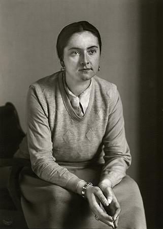 August Sander, Sculptress, 1929