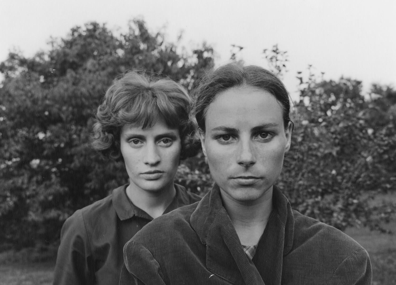 Emmet Gowin, Edith and Ruth, Danville, Virginia, 1966