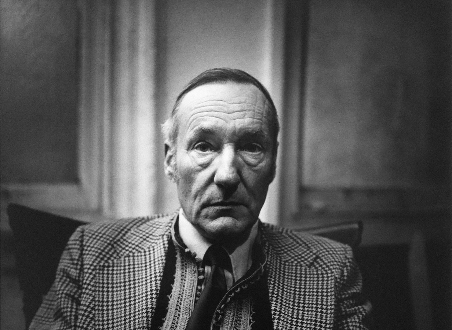Peter Hujar, William Burroughs (II), 1975