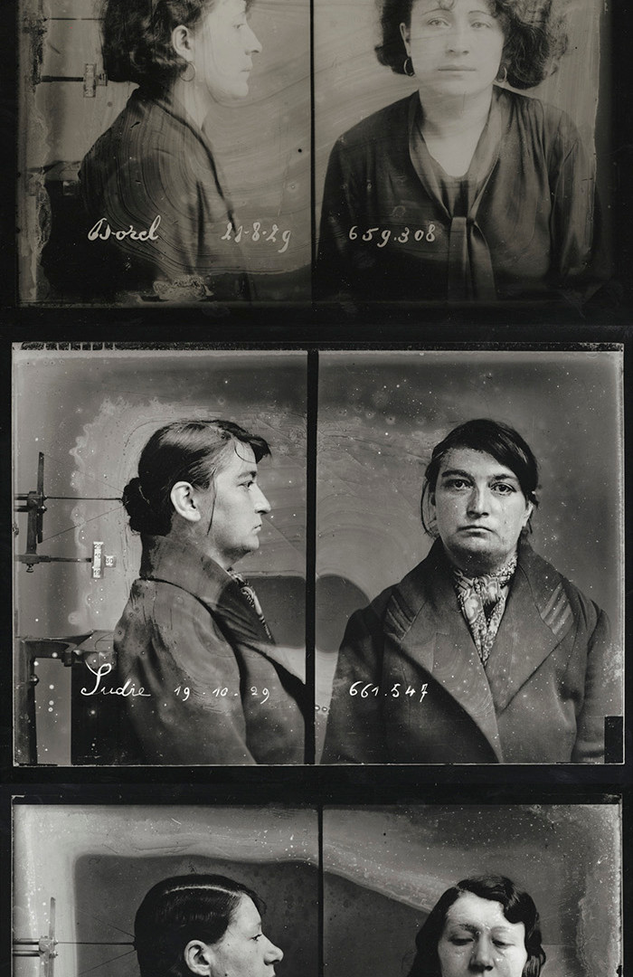 Photographer unknown, Mug Shots, 1929 (printed later)