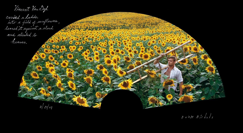 Duane Michals, Vincent Van Gogh, 8/25/07