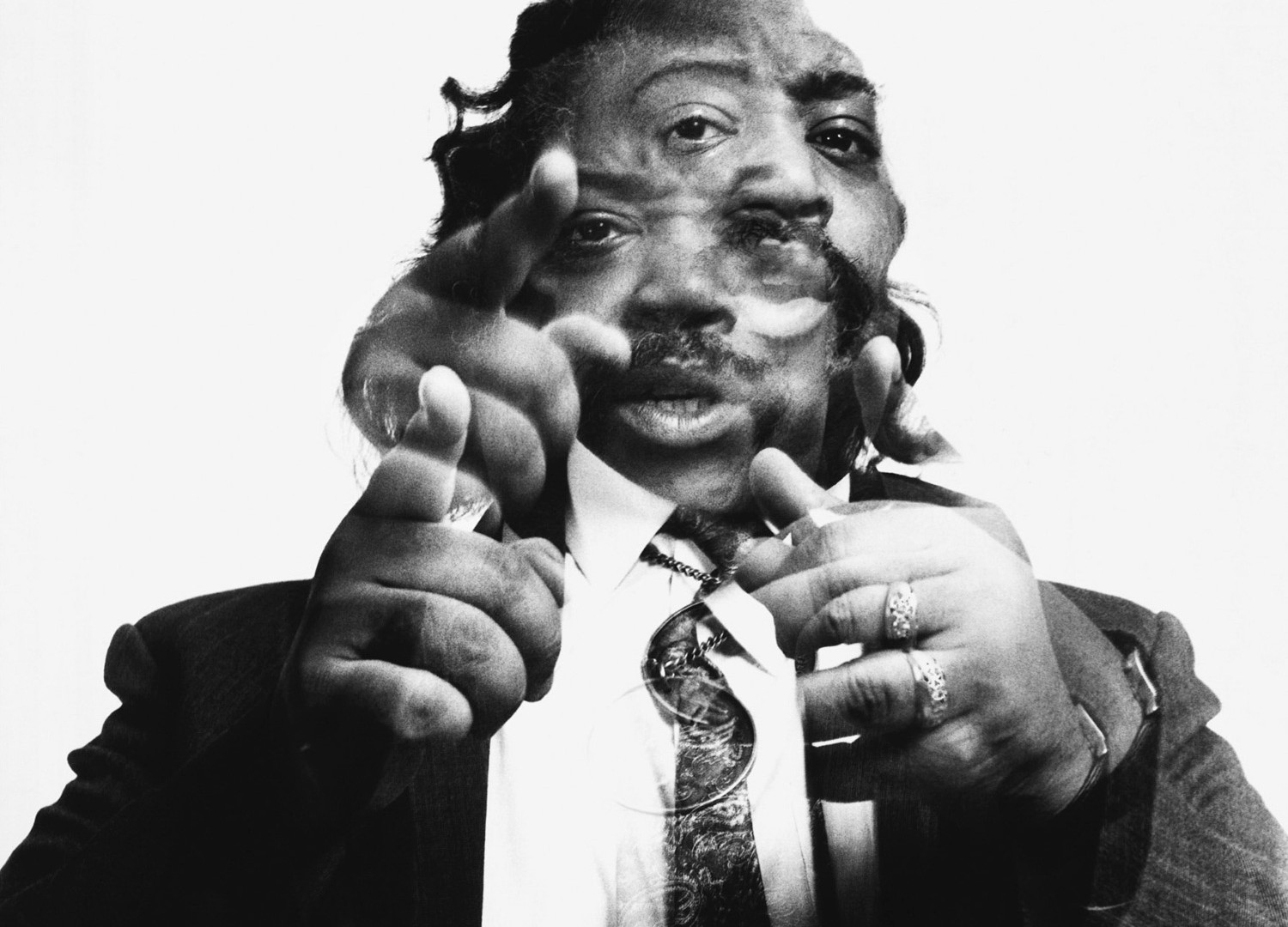 Richard Avedon, Reverend Al Sharpton, New York, January 6, 1993