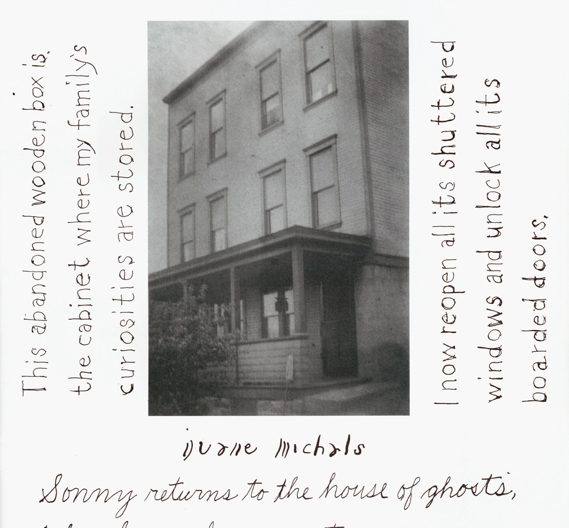 Duane Michals, detail from The House I Once Called Home, 2002