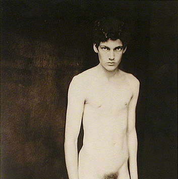 Paolo Roversi, Tobias, Paris, Studio 23 rue des Martyrs, 1999