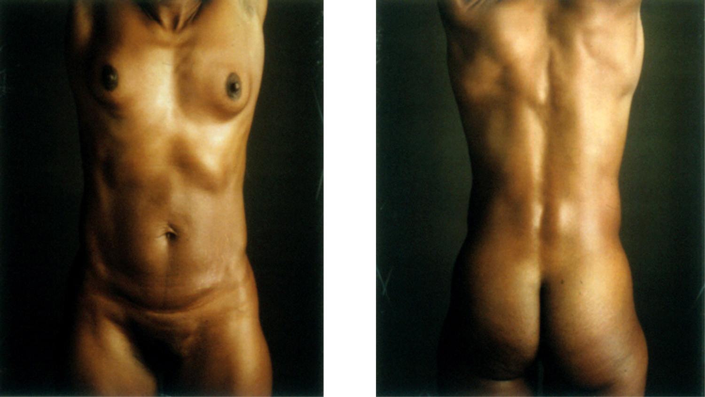 Chuck Close, Untitled Torso (RC), 1999