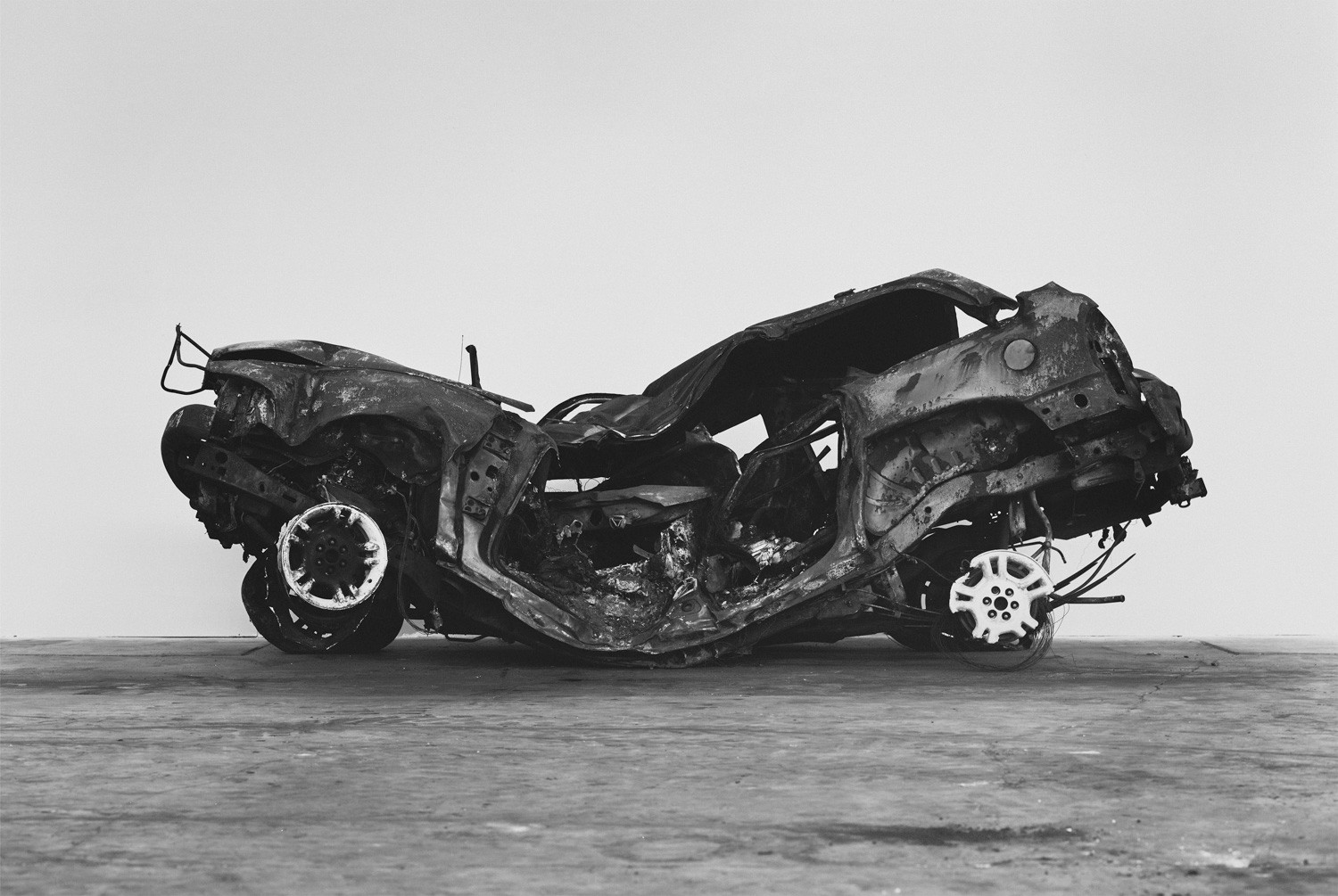 Richard Learoyd, Crashed, burned and rolled (1), 2017