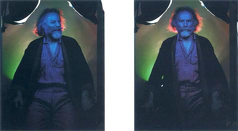 Lucas Samaras, Self-Portrait, 5/12/90