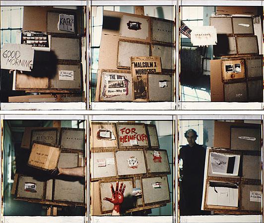 Robert Frank, Boston, March 20, 1985