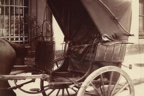 Eugène Atget, Cabriolet, 1908
