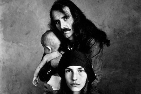 Irving Penn, Hippie Family (Kelly), San Francisco, 1967
