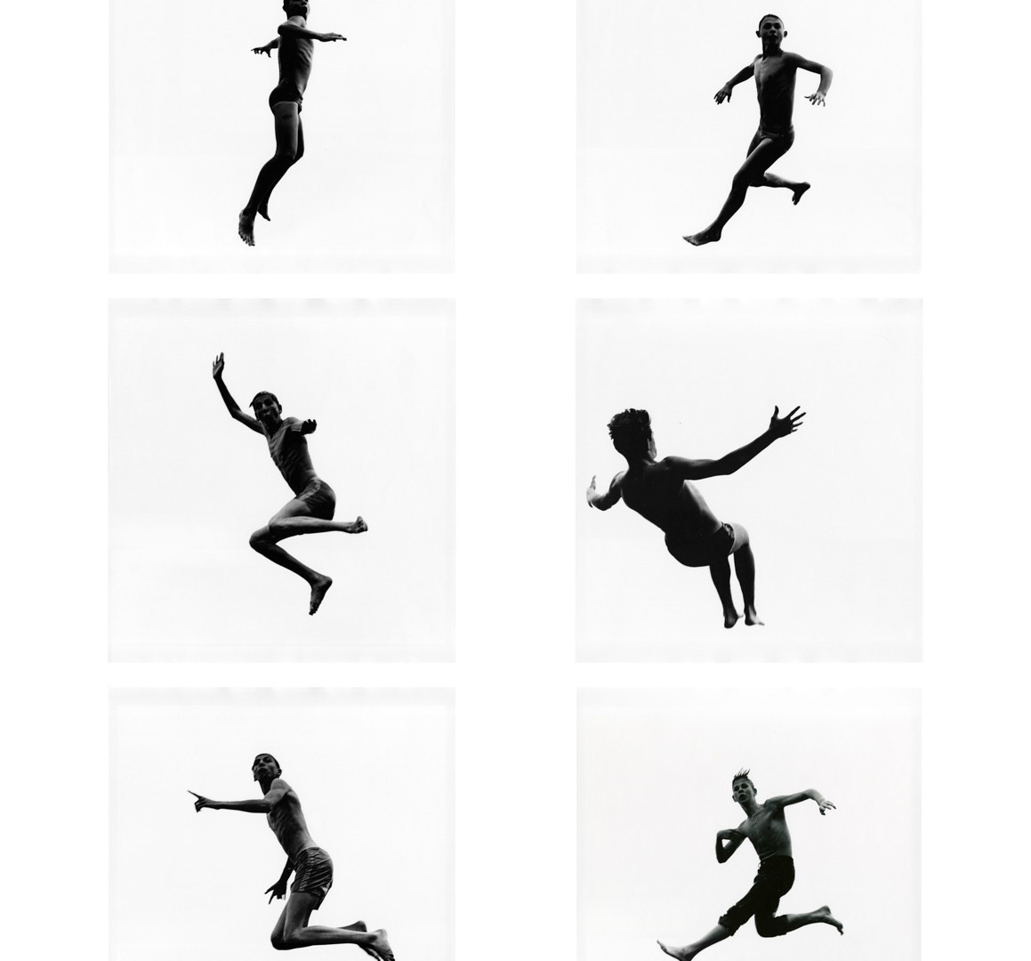 Aaron Siskind, Pleasures and Terrors of Levitation, 1954-56