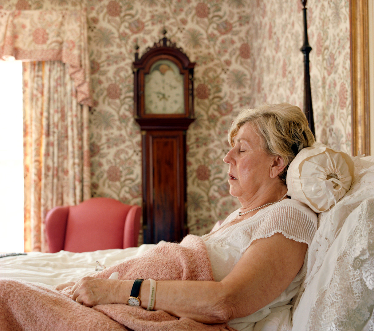 Jocelyn Lee, Untitled (Mom in bed), 2008